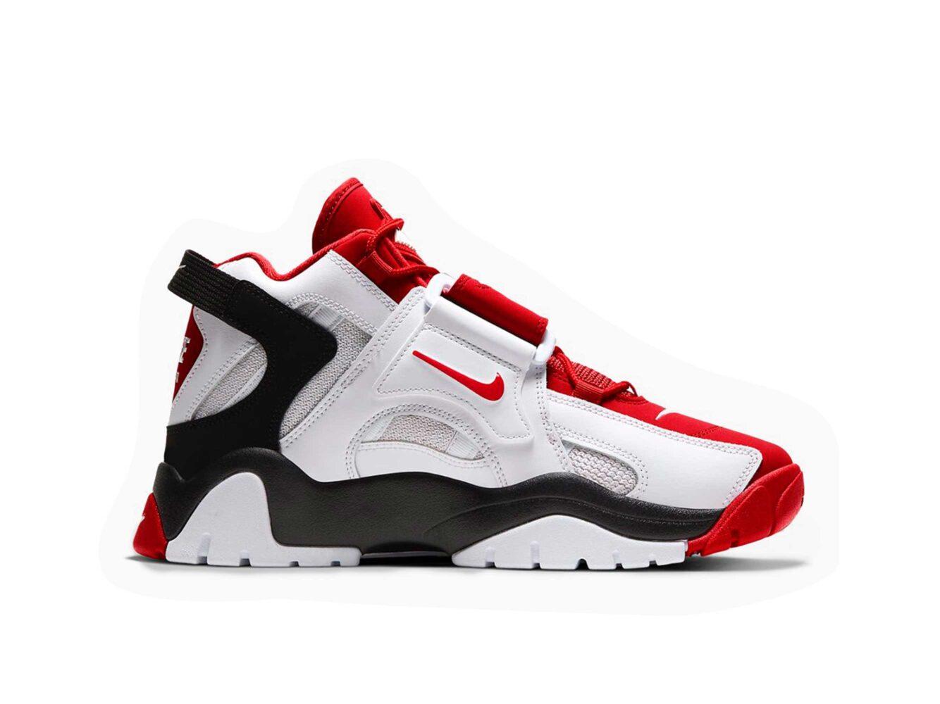 nike air barrage white red black AT7847_102 купить