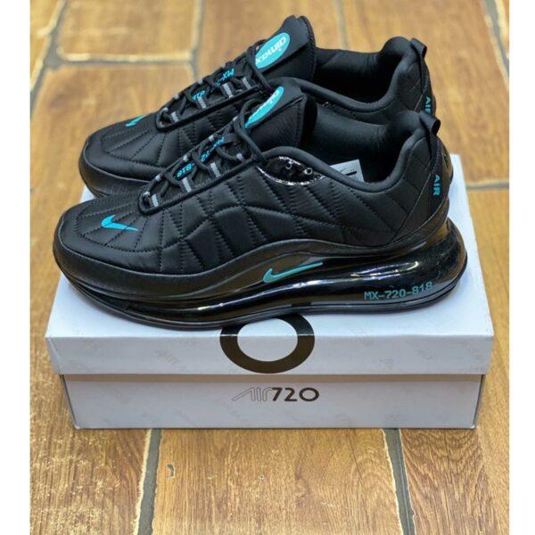 nike air max 720-818 black blue купить