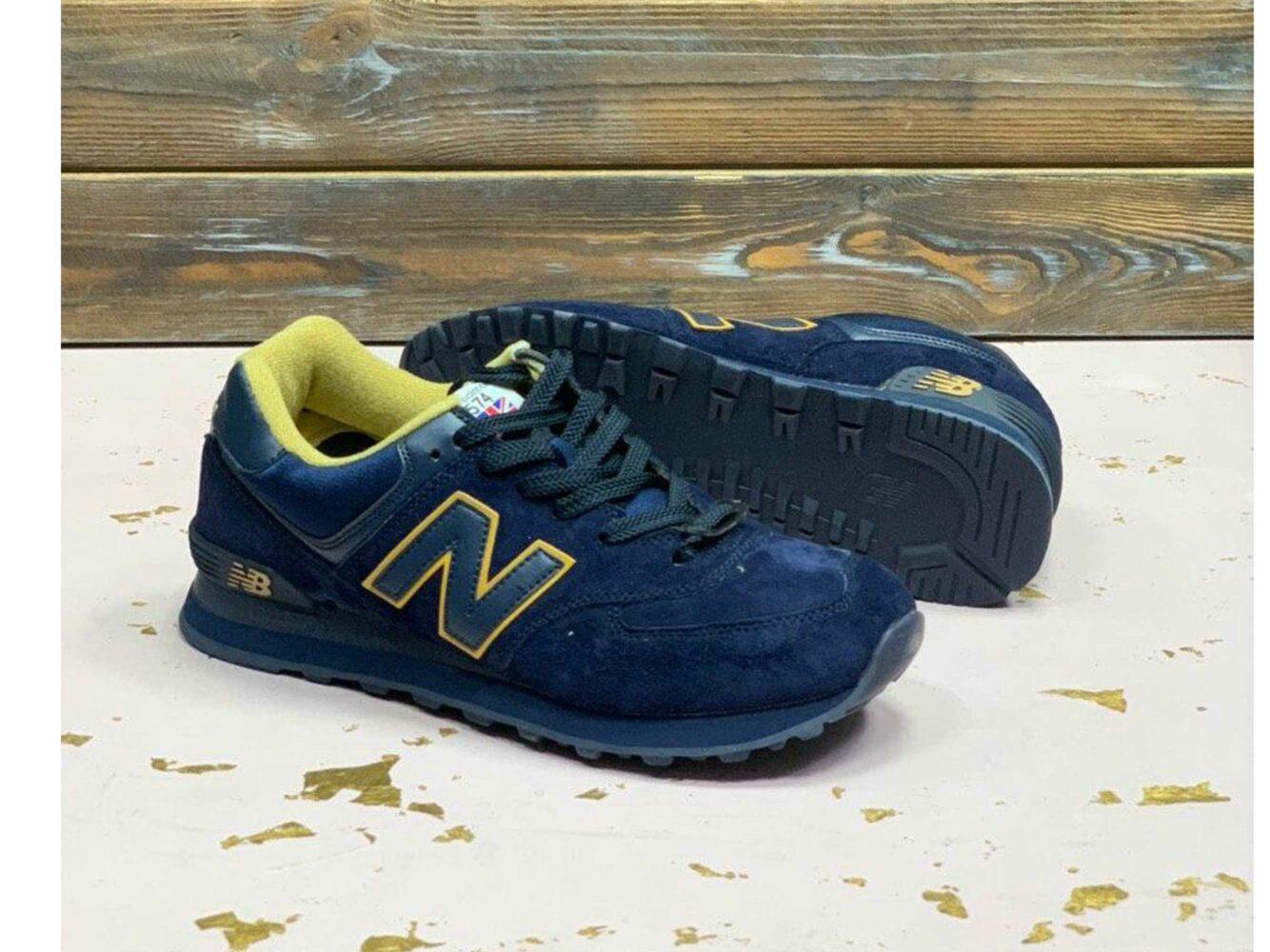 new balance 574 dark blue купить