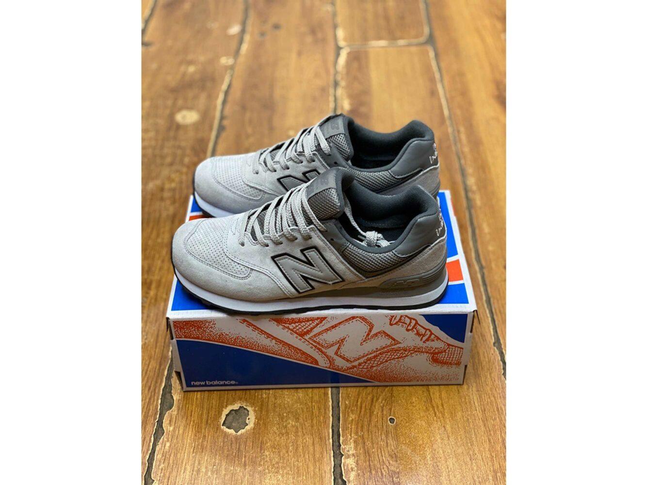 new balance 574 grey купить