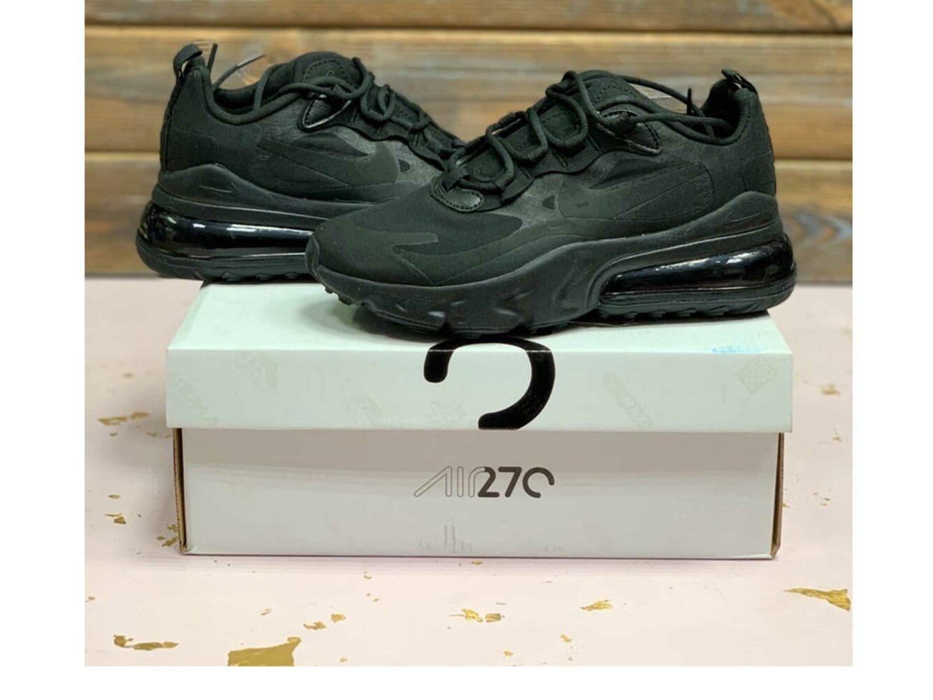 nike air max 270 all black купить