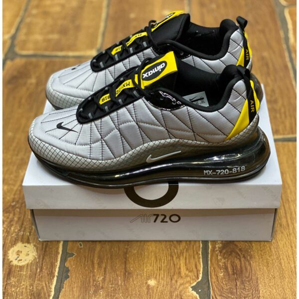 nike air max 720-818 grey yellow CI3871_100 купить