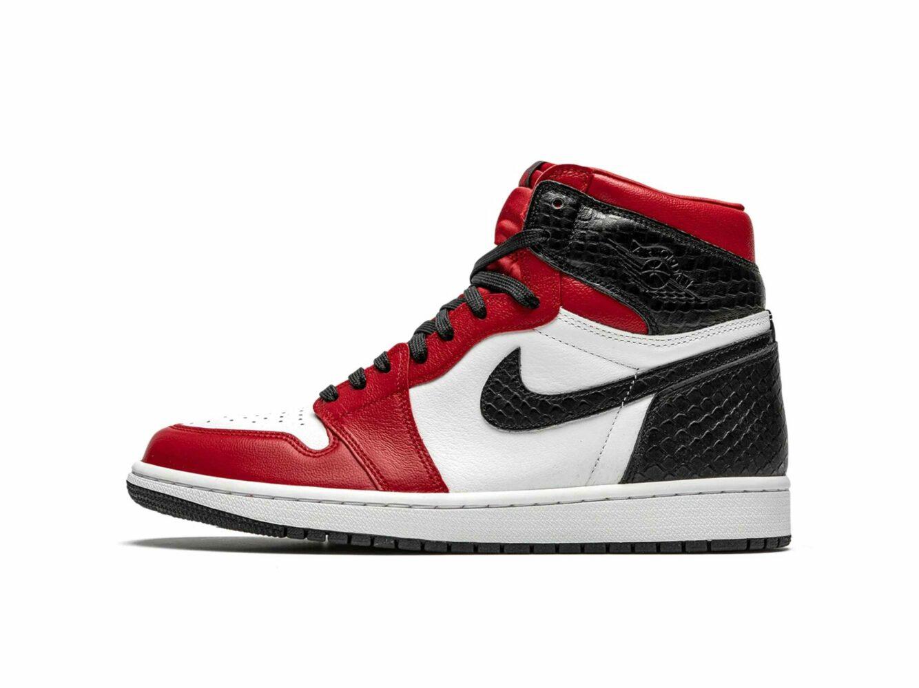 nike air Jordan 1 high retro satin snake CD0461_601 купить