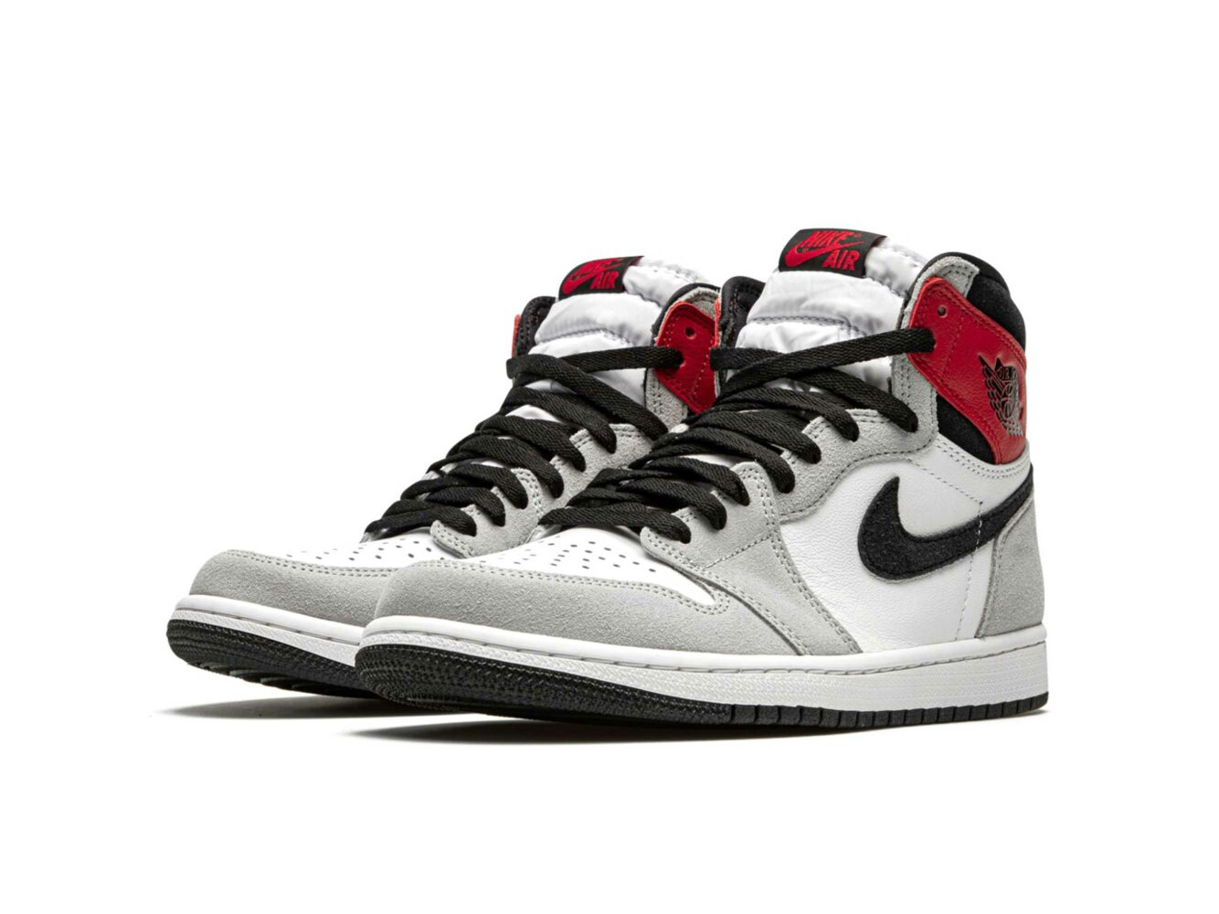 nike air Jordan 1 retro high og light smoke grey 555088_126 купить