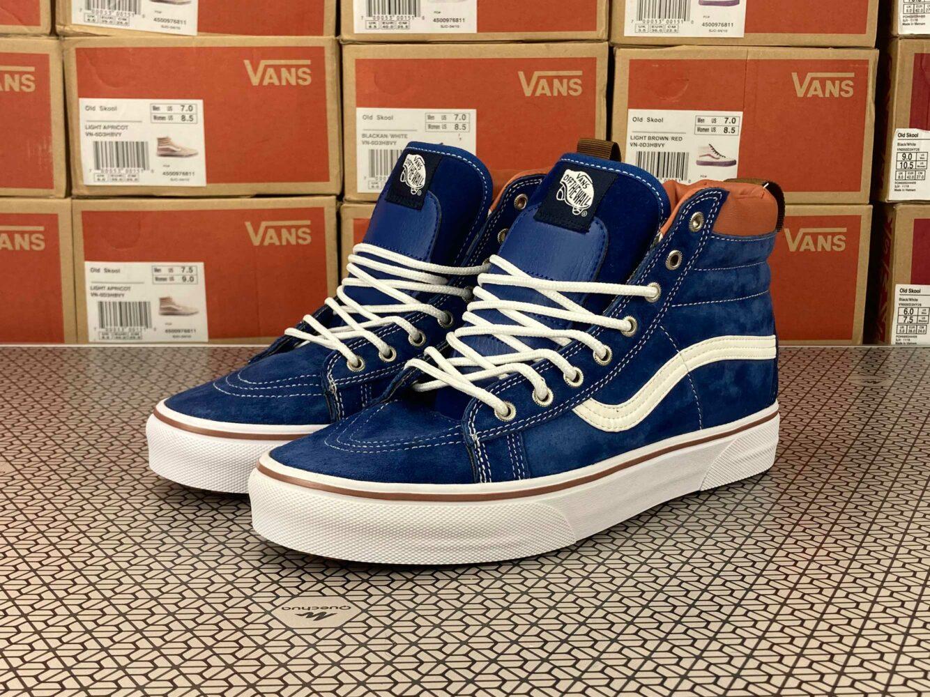 vans sk8_hi mte blue dx winter купить