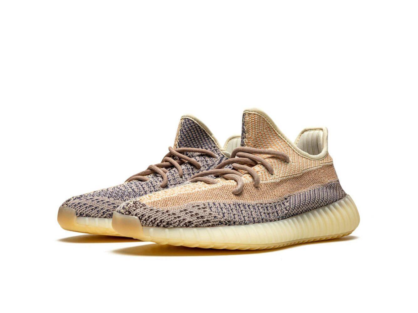 adidas yeezy boost 350 v2 ash pearl GY7658 купить
