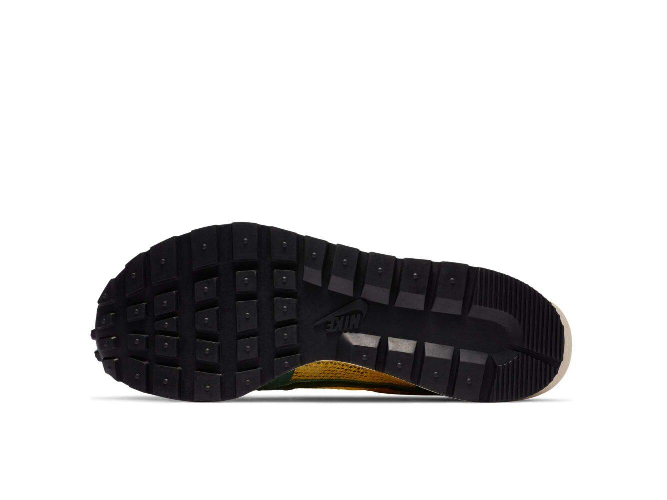 nike x sacai vaporwaffle yellow green CV1363_700 купить
