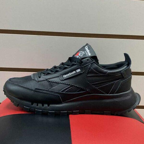 reebok reebok classic leather legacy black FY7401 купить