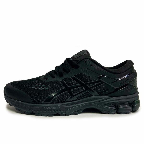 asics gel kayano 26 black black 1011A541 купить