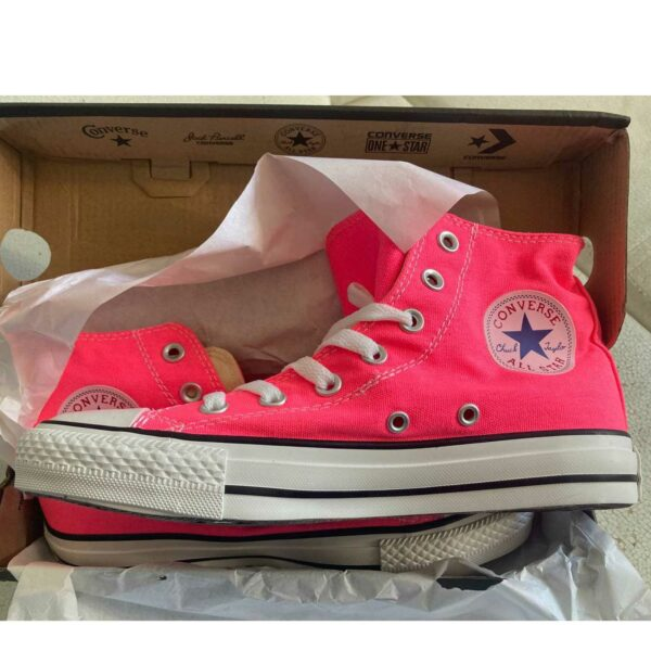 converse chuck taylor all star hi pink 140990C купить